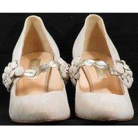 Image of BNWOT Rachel Simpson - Size: 4 - Cream - Heeled shoes MYRTLE