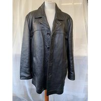 Image of Wallace sacks London Leather Jacket Wallace Sacks London - Size: L - Black