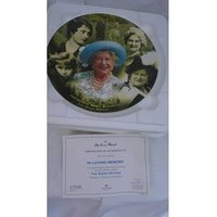 Image of DANBURY MINT THE QUEEN MOTHER COLLECTOR PLATE