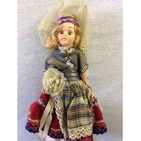 "Image of Vintage ""Brides of All Nations"" Sweden Doll Corrine Creative Arts"