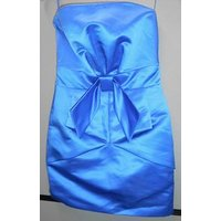 Image of Fitted blue cocktail dress size S Hunters & Gatherers - Size: S - Blue - Cocktail dress