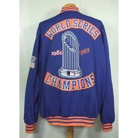 Image of Genuine Merchandise XXL New York Mets World Series Jacket Genuine Merchandise - Size: XXL - Multi-coloured - Bomber jacket