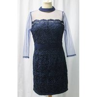 Image of Little Mistress - Size: 12 - Royal Blue Lace - Evening dress