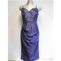 Image of Size 10 George cocktail dress George - Size: 10 - Purple - Cocktail dress
