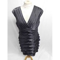 Image of Adrianna Papell dress Size 10 Unbranded - Size: 10 - Black