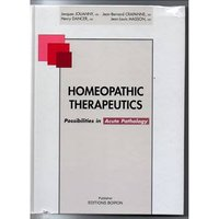 Image of Homeopathic Therapeutics : Possibilities in Acute Pathology