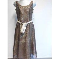 Image of Size 10 Kaliko cocktail dress Kaliko - Size: 10 - Brown - Cocktail dress
