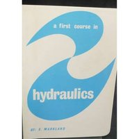 Image of A First Course In Hydraulics