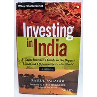 Image of Investing in India by Rahul Saraogi