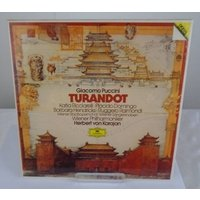 Image of Vienna Philharmonic conducted by Herbert von Karajan: Giacomo Puccini's - Turnadoti