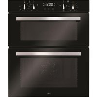 CDA DC741BL Built Under Electric Double Oven - Black - A/A Rated