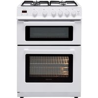 Electra TG60W 60cm Gas Cooker with Variable Gas Grill - White - A+ Rated