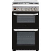 Hotpoint CLOE HD5G00CC 50cm Double Gas Cooker, A Energy Rating, White