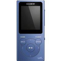Sony NW-E394 Walkman MP3 Player with FM Radio - Blue