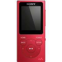 Sony NW-E394 Walkman MP3 Player with FM Radio - Red