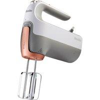 Breville VFM021 Hand Mixer with HeatSoft Technology, White