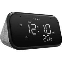 "Lenovo Smart Clock Essential with Google Assistant - 3.8"" Screen - Black"