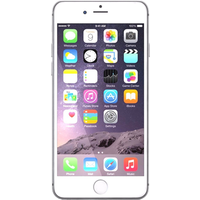 Apple iPhone 6 Plus (64GB Silver Pre-Owned Grade A) at £100.00 on No contract £7.62 a month.