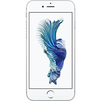 Apple iPhone 6s (128GB Silver Pre-Owned Grade C) at £100.00 on No contract £4.42 a month.