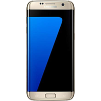 Samsung Galaxy S7 Edge (32GB Gold Platinum Pre-Owned Grade C) at £25.00 on No contract £6.16 a month.