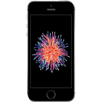 Apple iPhone SE (16GB Space Grey Pre-Owned Grade B) at £50.00 on No contract £12.17 a month.