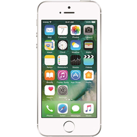 Apple iPhone SE (16GB Silver Pre-Owned Grade A) at £50.00 on No contract £15.70 a month.