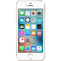 Apple iPhone SE (64GB Gold Pre-Owned Grade C) at £50.00 on No contract £3.43 a month.