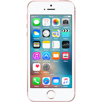 Apple iPhone SE (16GB Rose Gold Pre-Owned Grade B) at £25.00 on No contract £16.58 a month.