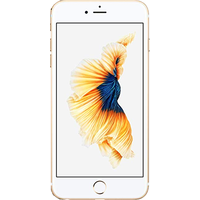 Apple iPhone 6s Plus (32GB Gold Pre-Owned Grade A) at £100.00 on No contract £6.41 a month.
