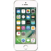 Apple iPhone SE (128GB Silver Pre-Owned Grade C) at £179.00 on No contract.