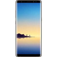 Samsung Galaxy Note 8 (64GB Maple Gold Pre-Owned Grade A) at £25.00 on No contract £64.20 a month.