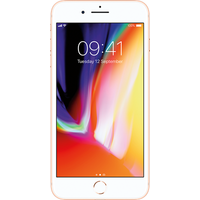 Apple iPhone 8 Plus (64GB Gold Pre-Owned Grade C) at £25.00 on No contract £33.58 a month.