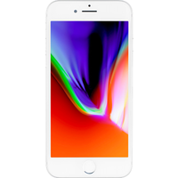 Apple iPhone 8 (256GB Silver Pre-Owned Grade C) at £50.00 on No contract £22.33 a month.