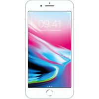 Apple iPhone 8 Plus (64GB Silver Pre-Owned Grade A) at £200.00 on No contract £15.93 a month.