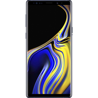 Samsung Galaxy Note9 (128GB Blue) at £29.99 on Essential 30GB (24 Month(s) contract) with UNLIMITED mins; UNLIMITED texts; 30000MB of 4G Double-Speed data. £48.00 a month.