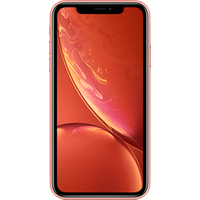 Apple iPhone XR (64GB Coral Pre-Owned Grade A) at £200.00 on No contract £19.81 a month.