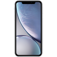 Apple iPhone XR (64GB White) at £200.00 on goodybag 10GB with UNLIMITED mins; UNLIMITED texts; 10000MB of 4G data. £38.81 a mont
