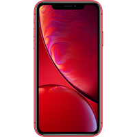 Apple iPhone XR (128GB (PRODUCT) RED Pre-Owned Grade B) at £699.00 on No contract.