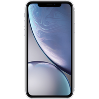 Apple iPhone XR (128GB White Pre-Owned Grade C) at £25.00 on No contract £38.64 a month.
