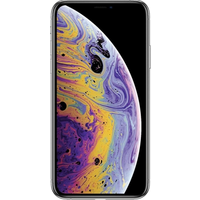 Apple iPhone XS Max (64GB Silver Pre-Owned Grade A) at £100.00 on No contract £73.70 a month.