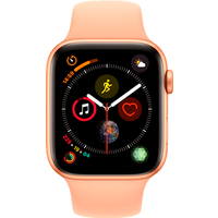 Apple Watch Series 4 44 mm (GPS+Cellular) Gold Aluminium Case with Pink Sand Sport Band (Refurbished Grade A)