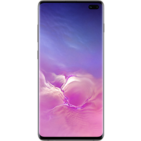 Samsung Galaxy S10 Plus (128GB Prism Black) at £50.00 on goodybag 3GB with UNLIMITED mins; UNLIMITED texts; 3000MB of 4G data. £