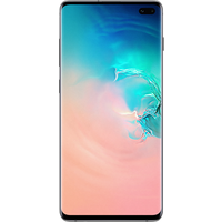 Samsung Galaxy S10 Plus (128GB Prism White) at £25.00 on goodybag 4GB with UNLIMITED mins; UNLIMITED texts; 4000MB of 4G data. £
