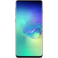 Samsung Galaxy S10 (128GB Prism Green) at £9.99 on Essential 30GB (24 Month(s) contract) with UNLIMITED mins; UNLIMITED texts; 30000MB of 4G Double-Speed data. £48.00 a month.