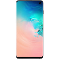 Samsung Galaxy S10 (128GB Prism White) at £9.99 on Essential 30GB (24 Month(s) contract) with UNLIMITED mins; UNLIMITED texts; 30000MB of 4G Double-Speed data. £48.00 a month.