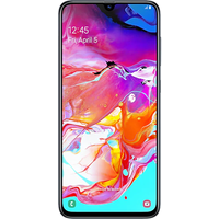 Samsung Galaxy A70 Dual Sim (128GB Black) at £100.00 on goodybag 10GB with UNLIMITED mins; UNLIMITED texts; 10000MB of 4G data.