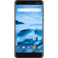 Nokia 6 (2018) (32GB Blue) on Max 20GB (24 Month(s) contract) with UNLIMITED mins; UNLIMITED texts; 20000MB of 4G Triple-Speed data. £31.00 a month.