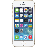 Apple iPhone 5s (32GB Gold Refurbished Grade A) at £100.00 on goodybag 8GB with UNLIMITED mins; UNLIMITED texts; 8000MB of 4G da