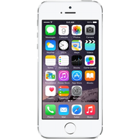 Apple iPhone 5s (16GB Silver Pre-Owned Grade C) at £25.00 on goodybag Always On with UNLIMITED mins; UNLIMITED texts; UNLIMITEDM