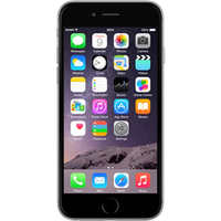 Apple iPhone 6 (16GB Space Grey Pre-Owned Grade C) at £50.00 on No contract £6.98 a month.
